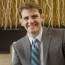 Justin Morgan, SEO Specialist in a nice suit and tie