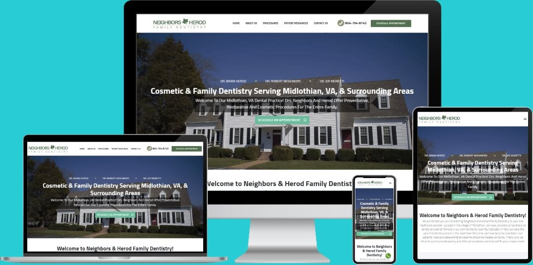 Dental Web Design Looking For A Fresh New Look For Your Practice